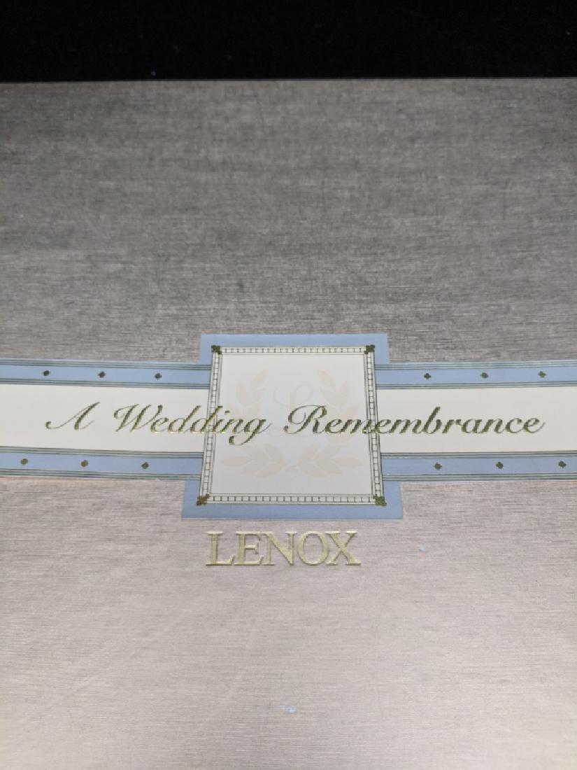 """Lenox China """"Anniversary Plate"""""""