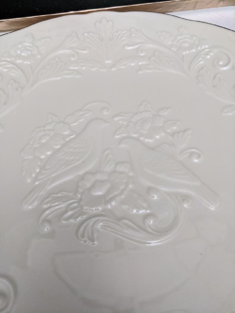 """Lenox China """"Anniversary Plate"""" - 3"""