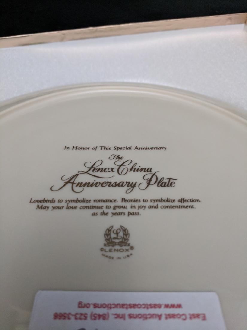"""Lenox China """"Anniversary Plate"""" - 4"""
