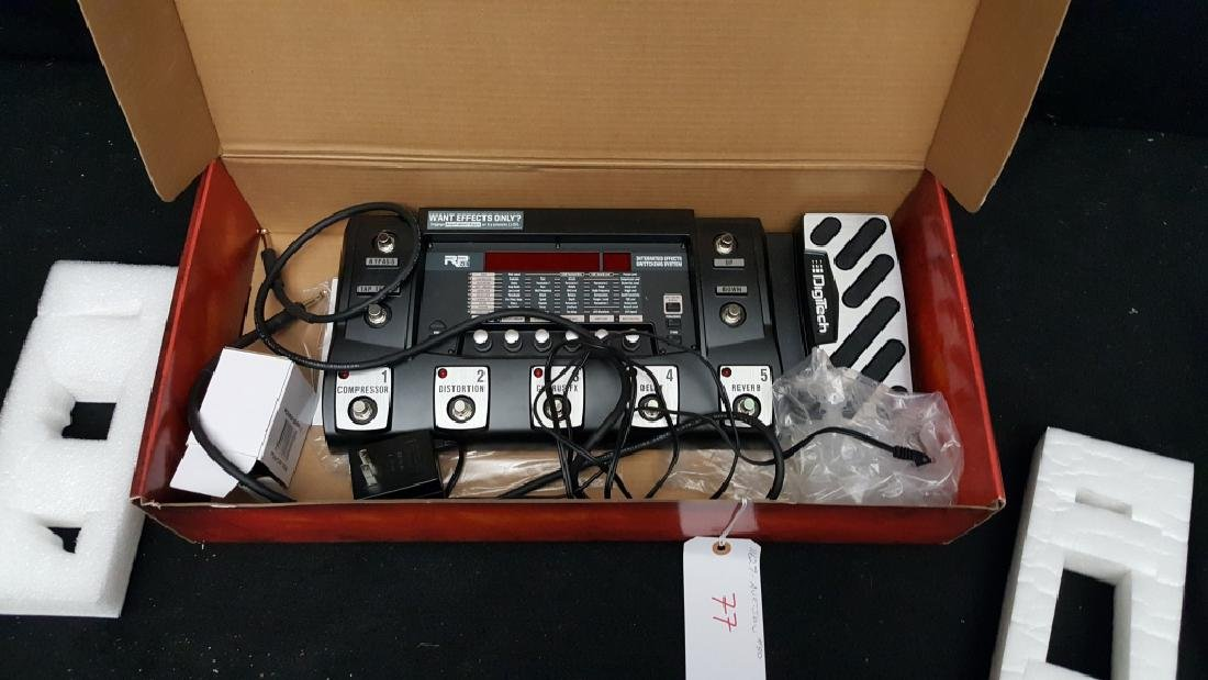DigiTech RP500 Effects Pedal (In Box) - 2