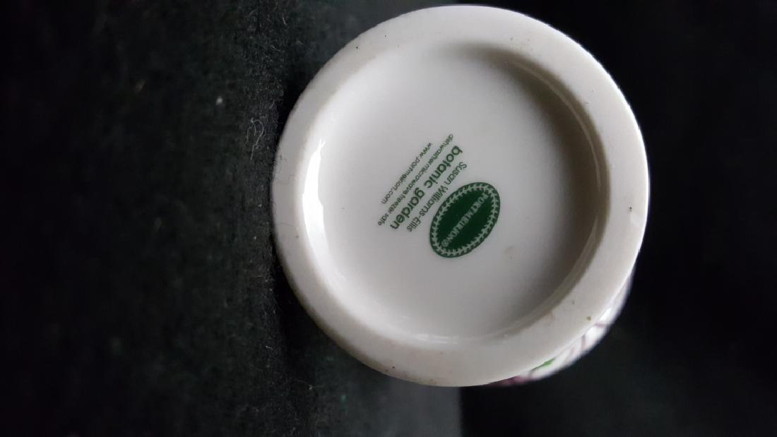 (5) Portmeirion Botanic Garden Pottery Bud Vases - 3