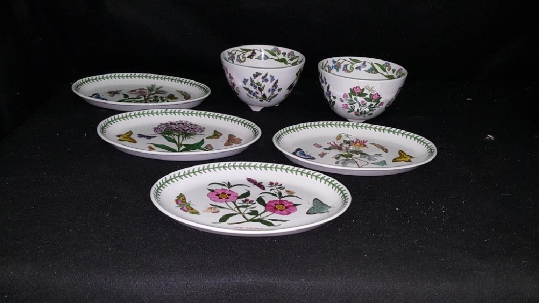 Portmeirion Botanic Garden Fruit Bowls & Oval Dish