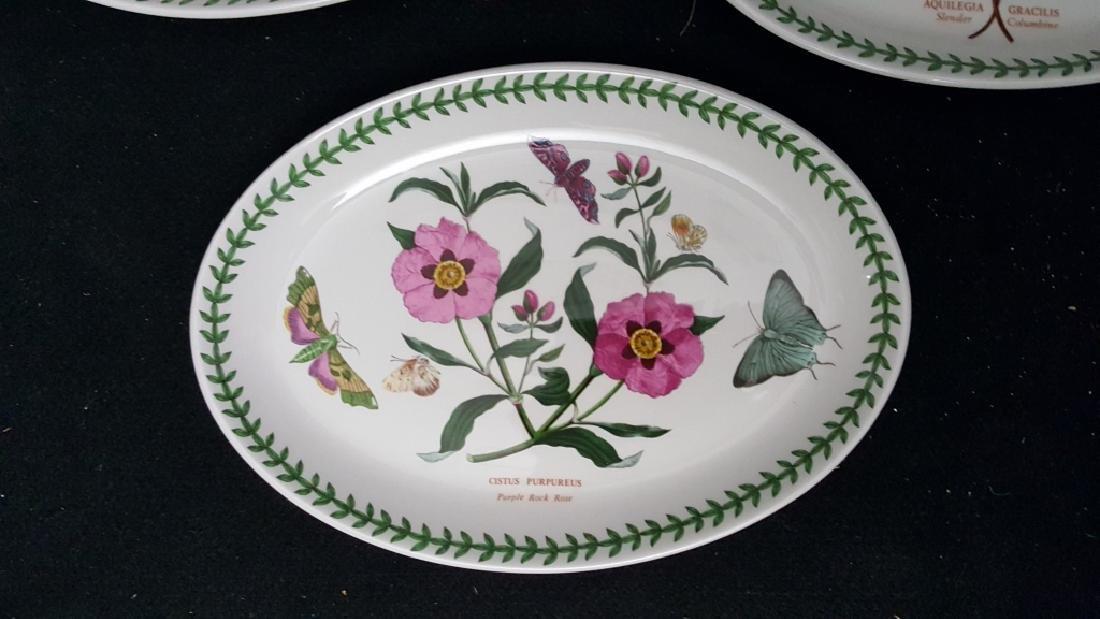 Portmeirion Botanic Garden Fruit Bowls & Oval Dish - 3