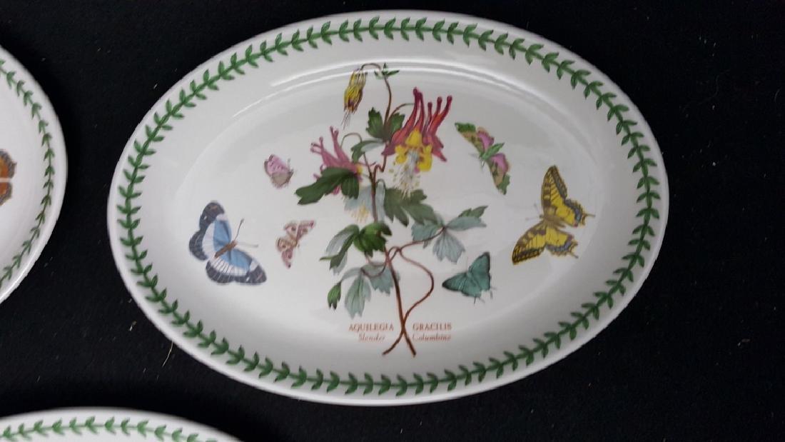 Portmeirion Botanic Garden Fruit Bowls & Oval Dish - 4