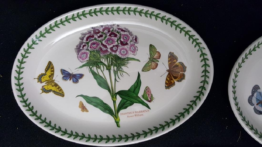 Portmeirion Botanic Garden Fruit Bowls & Oval Dish - 5