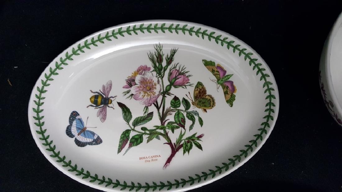 Portmeirion Botanic Garden Fruit Bowls & Oval Dish - 6