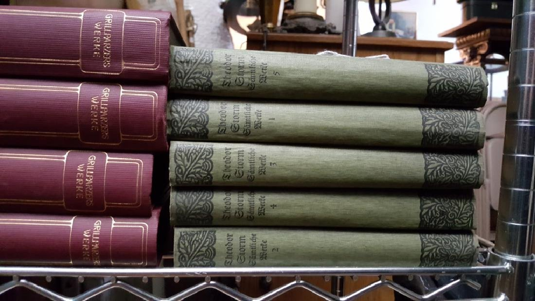 Group of Decorative Books, German. - 2