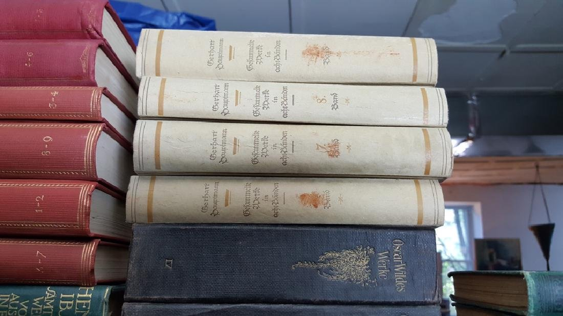 A Group of Decorative Bound Books, German. - 4