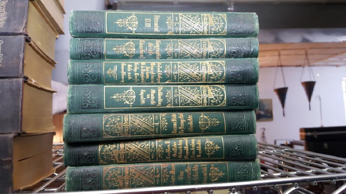 A Group of Decorative Bound Books, German. - 6