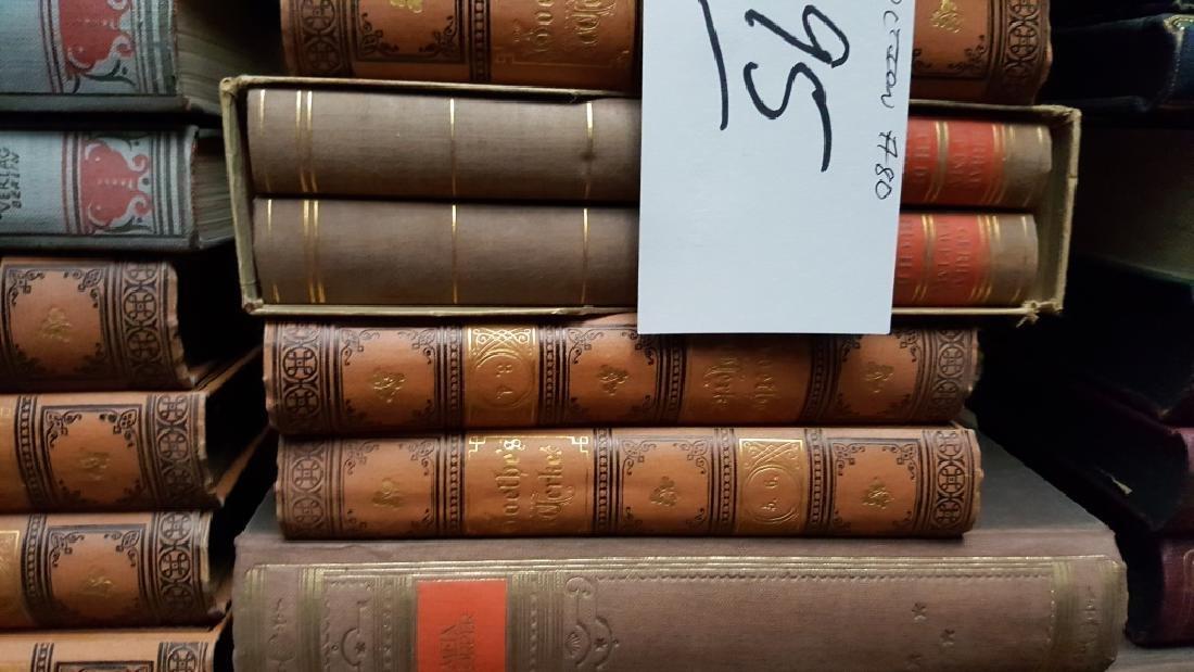 Group of Decorative Binding Books, German. - 5