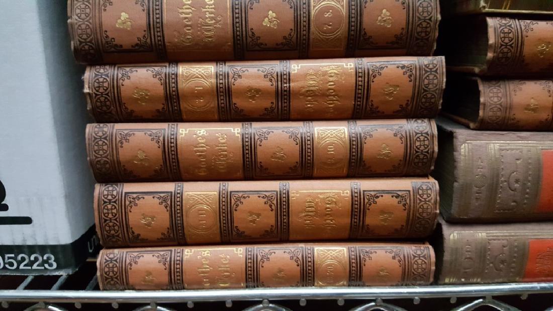 Group of Decorative Binding Books, German. - 7