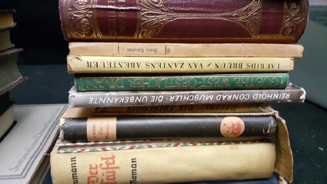 A Group of Decoratively Bound Books, German - 4