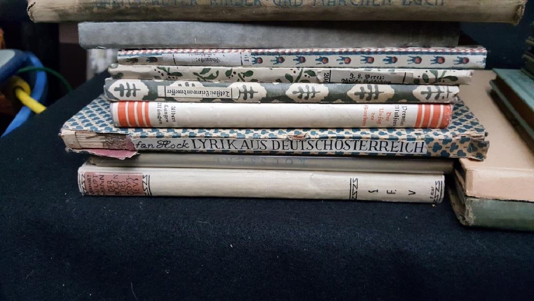 A Group of Decorative German Books - 8