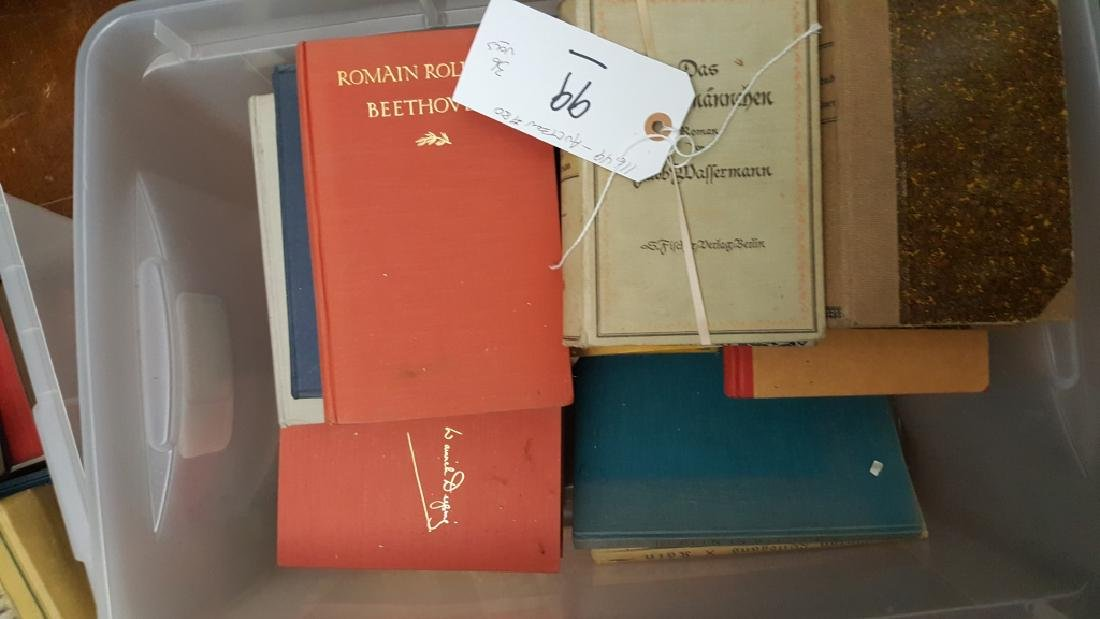A Group of Decorative German Books