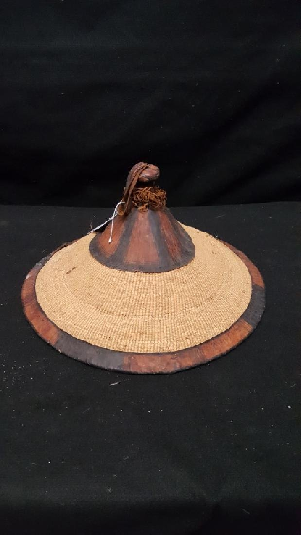 Antique Fulani West African Woven Hat