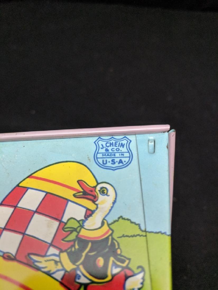 J. Chein & Co. Tin Rabbit Pulling Wagon Toy - 6
