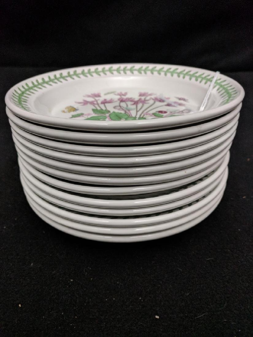 (12) Portmeirion Botanic Garden Dessert Plates - 2
