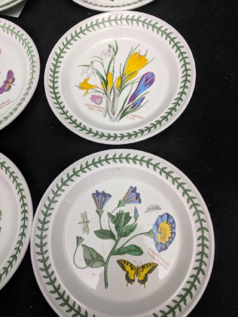 (12) Portmeirion Botanic Garden Dessert Plates - 6