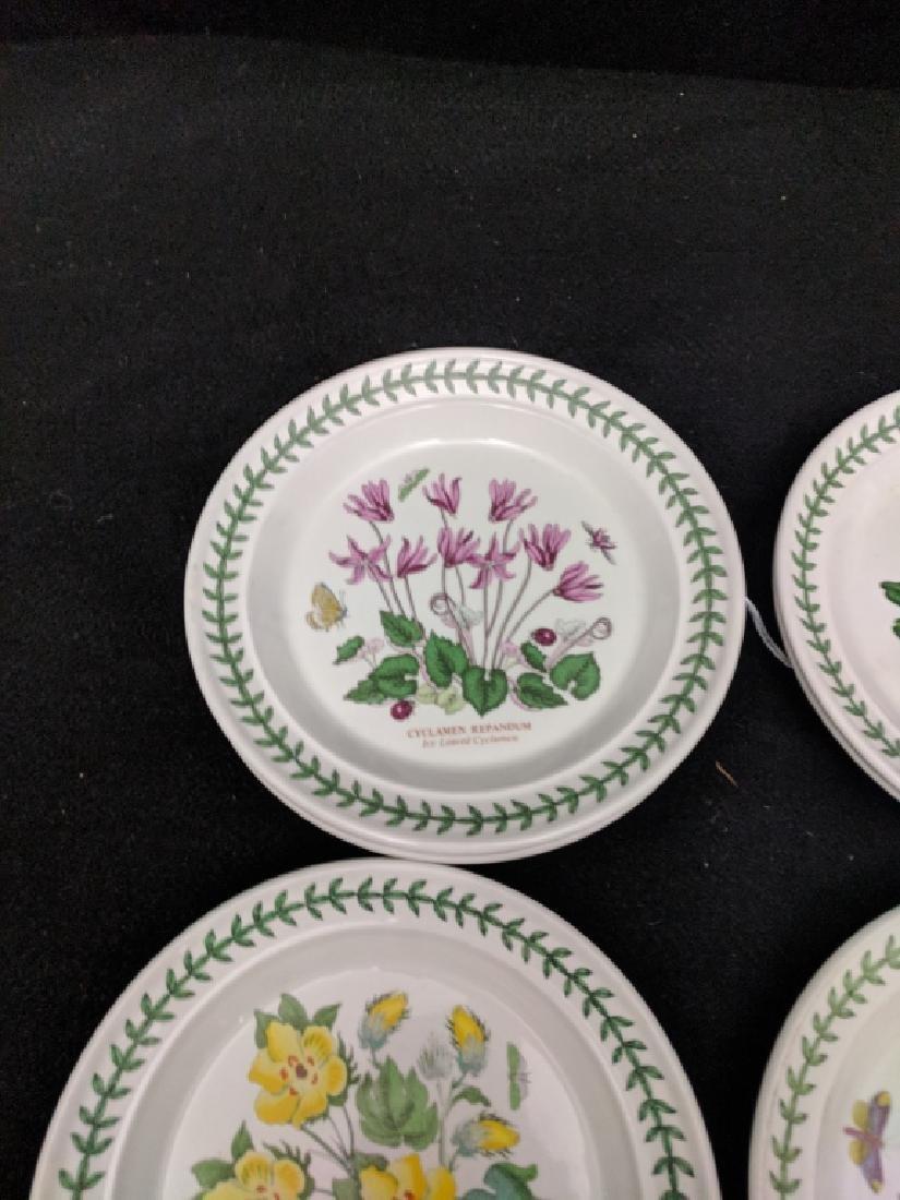 (12) Portmeirion Botanic Garden Dessert Plates - 9