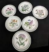 ( 11 )Portmeirion Botanic Garden Appetizer Plates