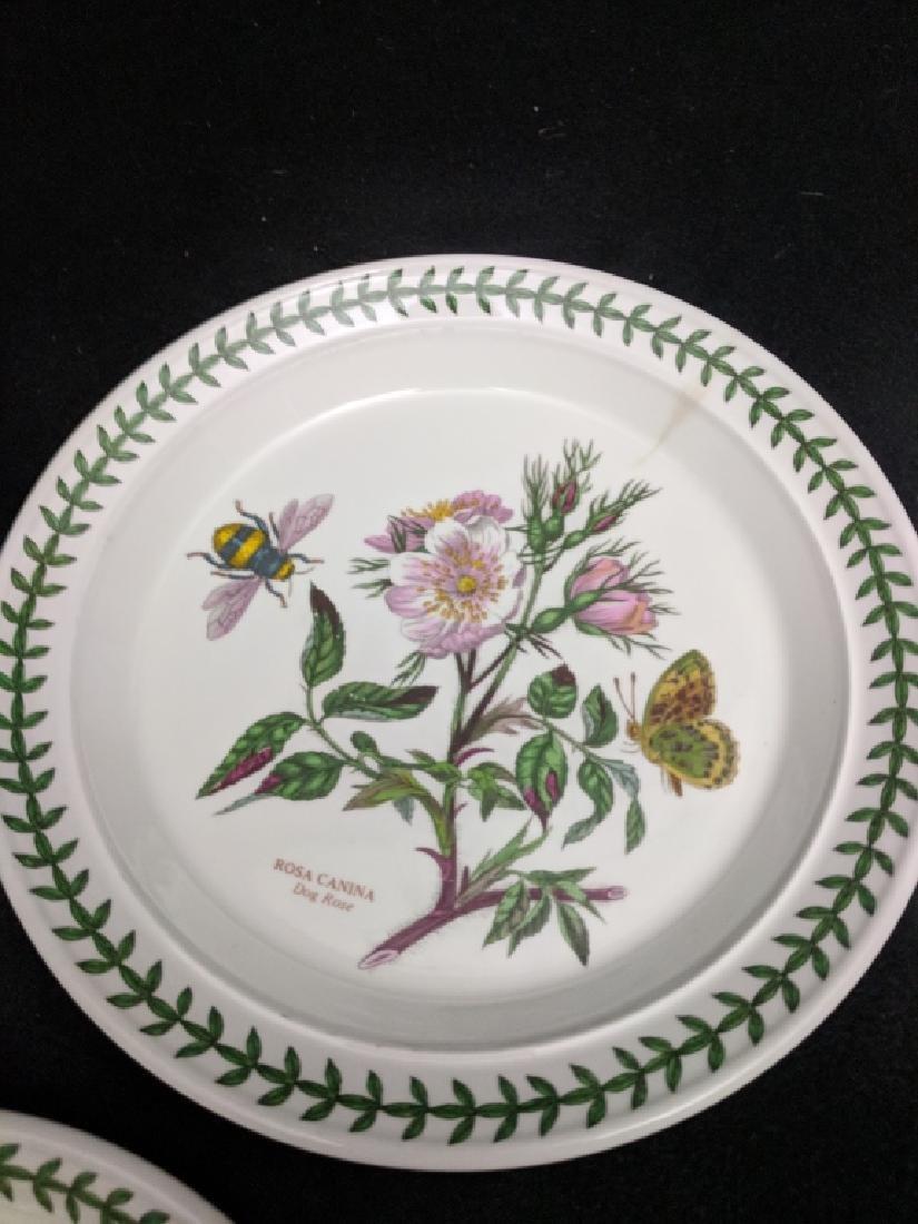 ( 11 )Portmeirion Botanic Garden Appetizer Plates - 5