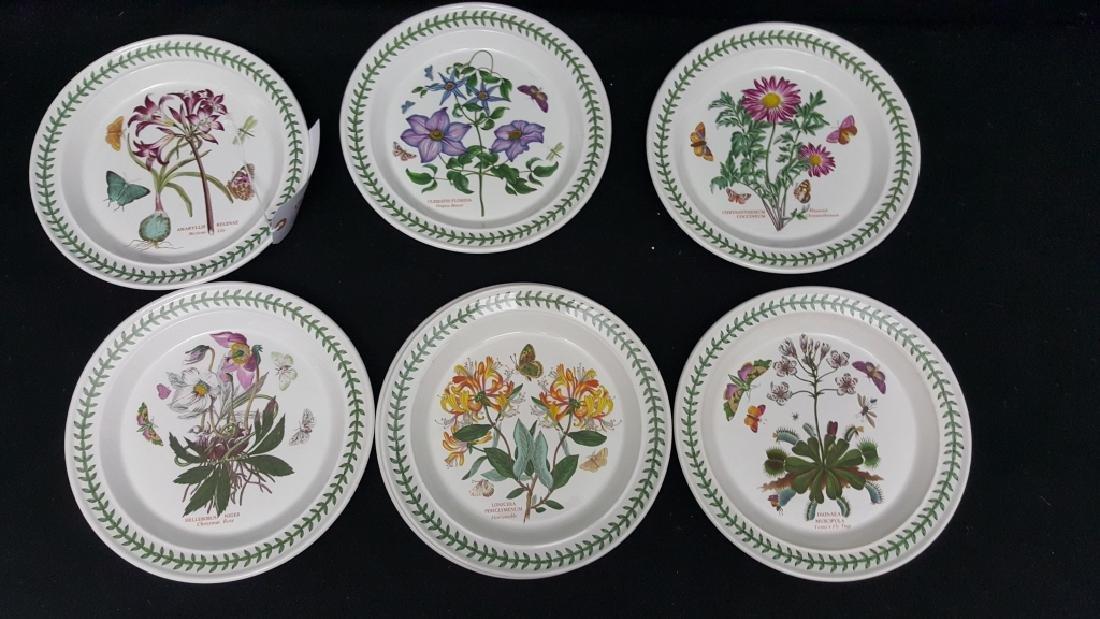 Portmeirion Botanic Garden Pottery Dinner Plates