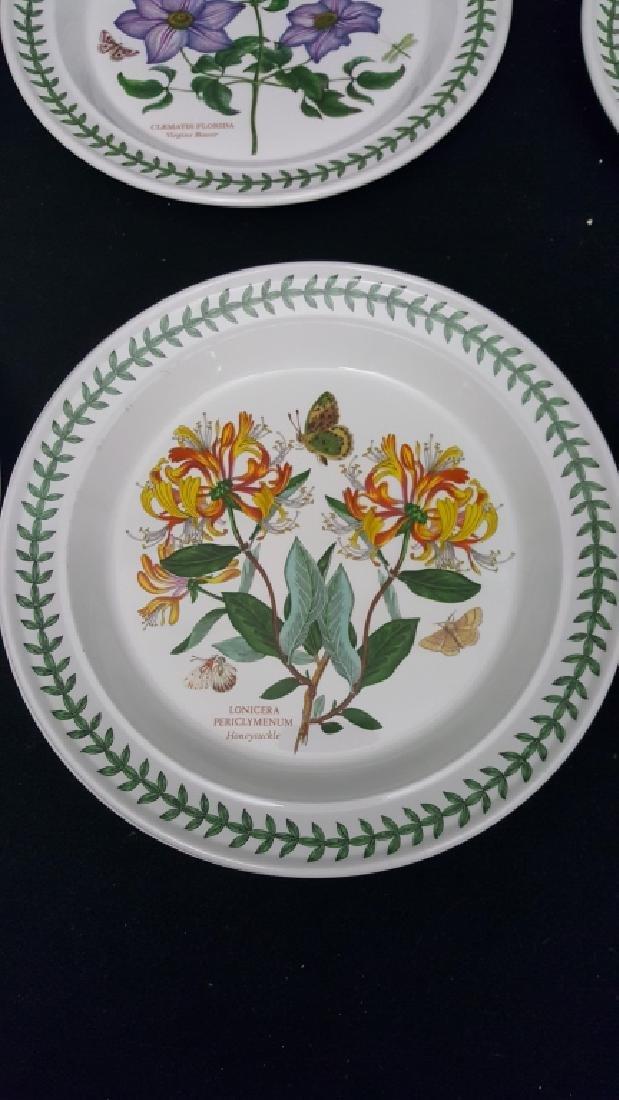 Portmeirion Botanic Garden Pottery Dinner Plates - 3