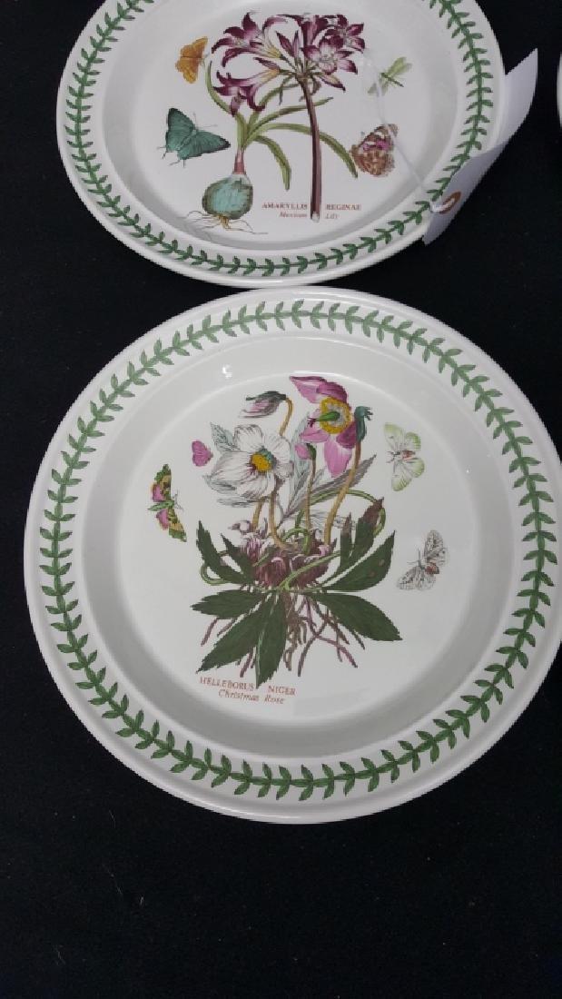 Portmeirion Botanic Garden Pottery Dinner Plates - 4