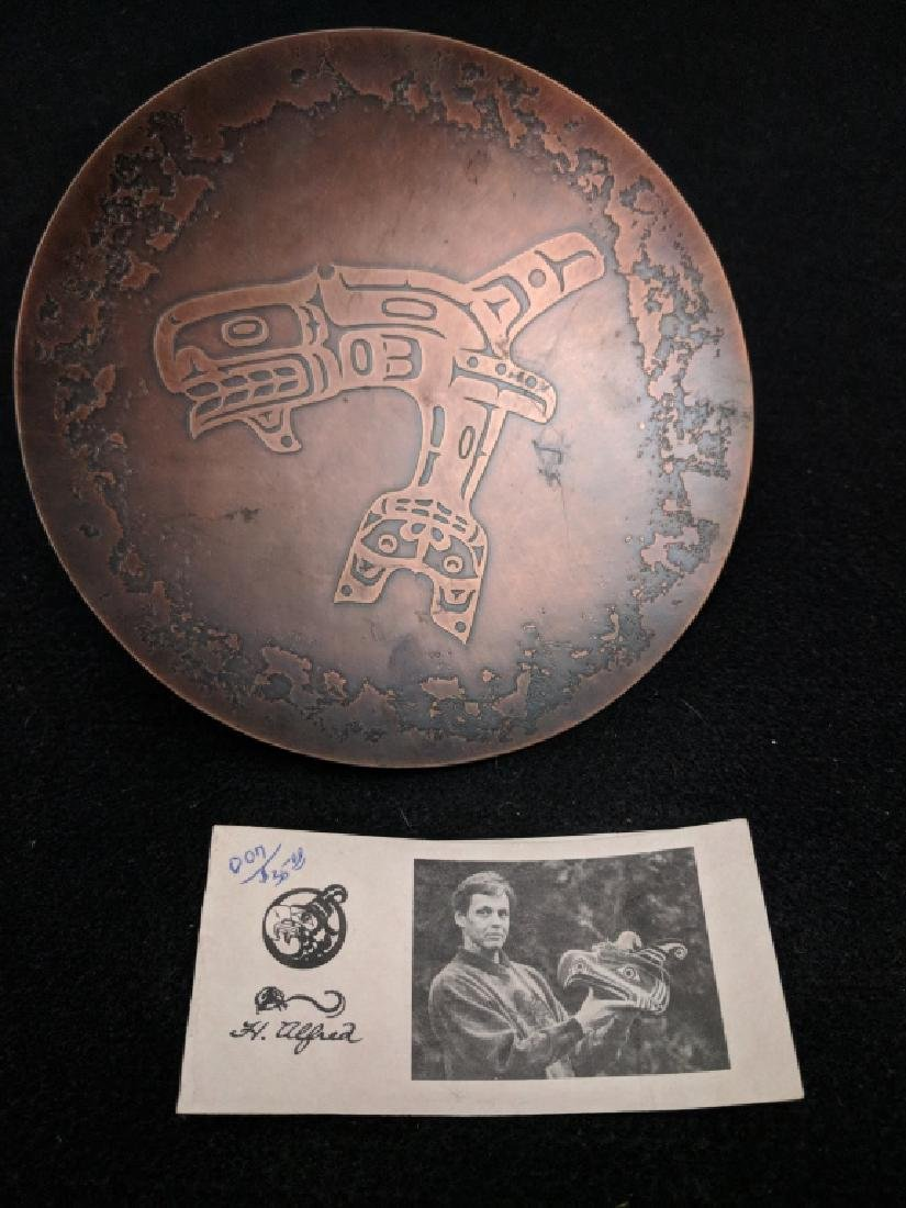 H. Alfred Copper Tray Northwest Territories - 2