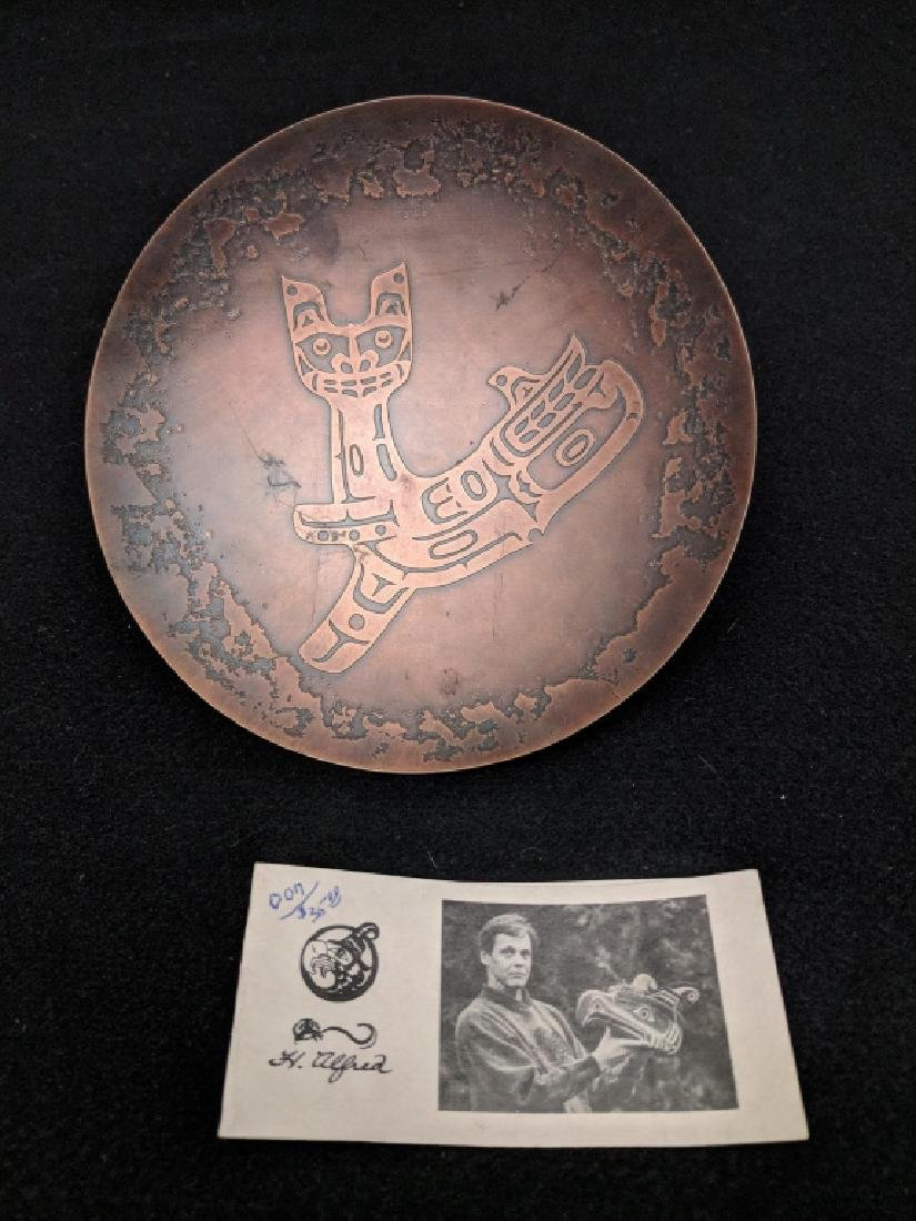H. Alfred Copper Tray Northwest Territories - 3