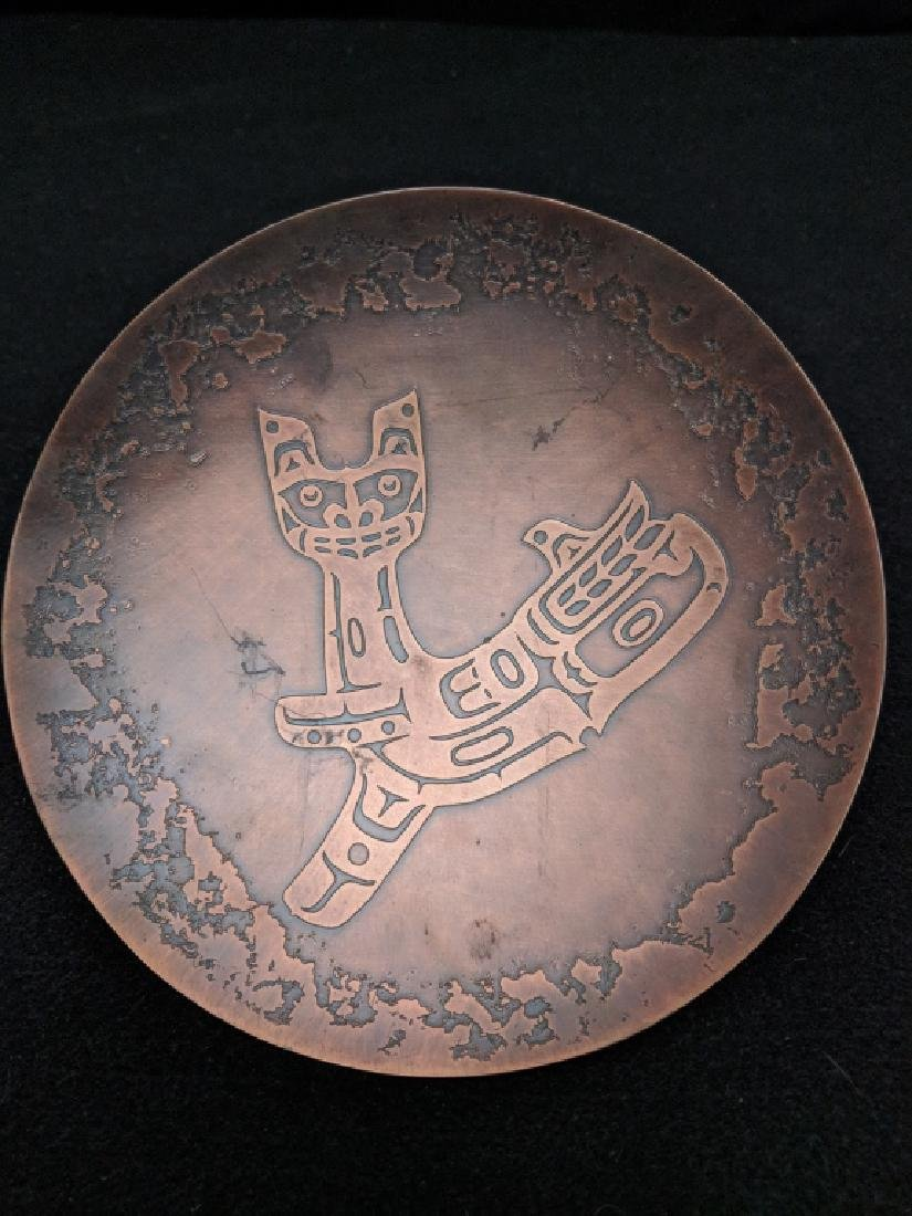 H. Alfred Copper Tray Northwest Territories - 4