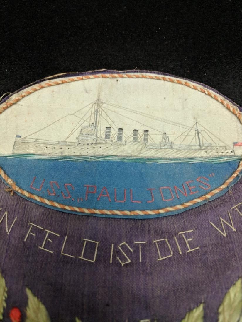 """Naval German Patch """"Mein Feld Ist Die Welt"""" 1935 - 2"""