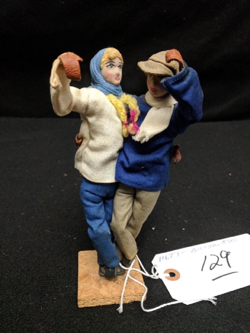 Vintage Hebrew / Israel Kibbutz Doll