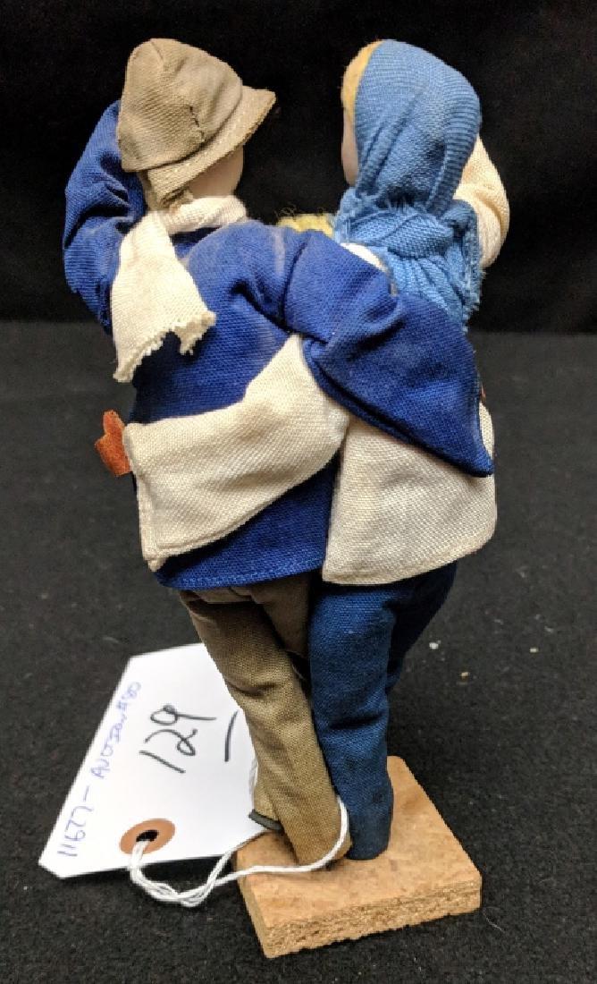 Vintage Hebrew / Israel Kibbutz Doll - 4
