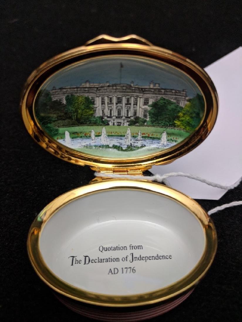 Halcyon Days Enamel Box Declaration Independence - 4