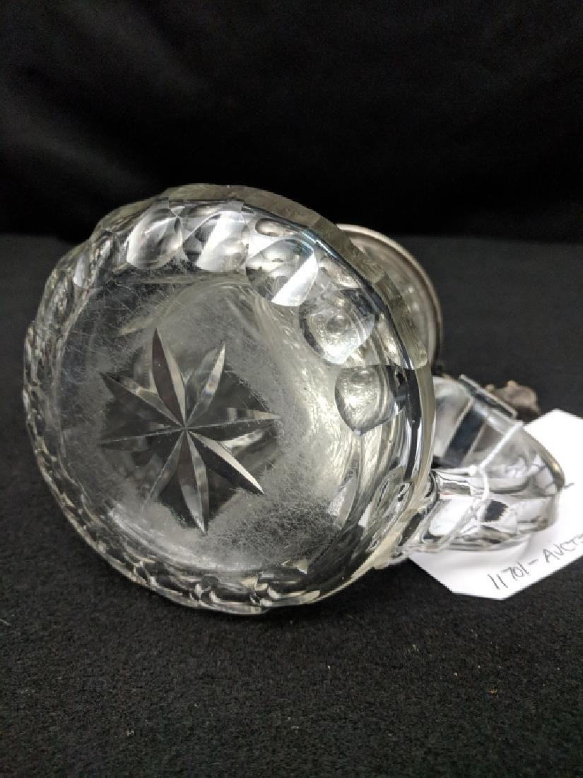 H. A. Jurst & Co. Crystal Silver Plate 1/2 L Stein - 5