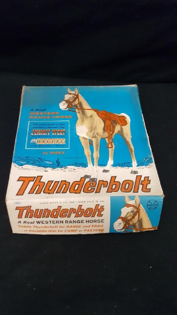 Thunderbolt The Range Horse Marx Toy #2061