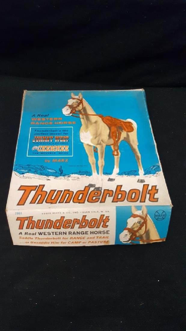 Thunderbolt The Range Horse Marx Toy #2061