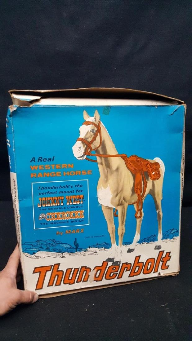 Thunderbolt The Range Horse Marx Toy #2061 - 3
