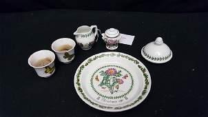 Collection of Portmeirion Botanic Garden Pottery