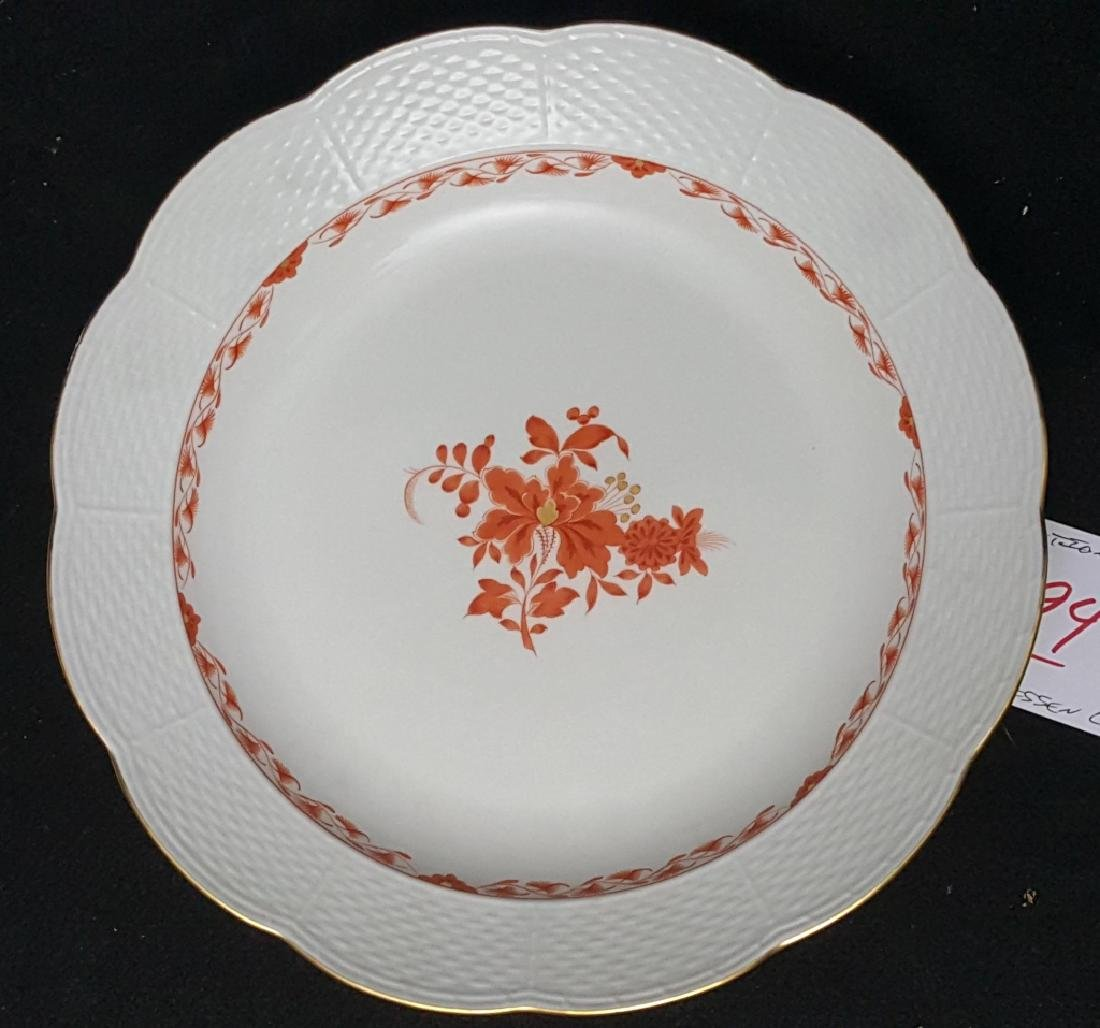 """Meissen Porcelain 12.5"""" Round Platter"""
