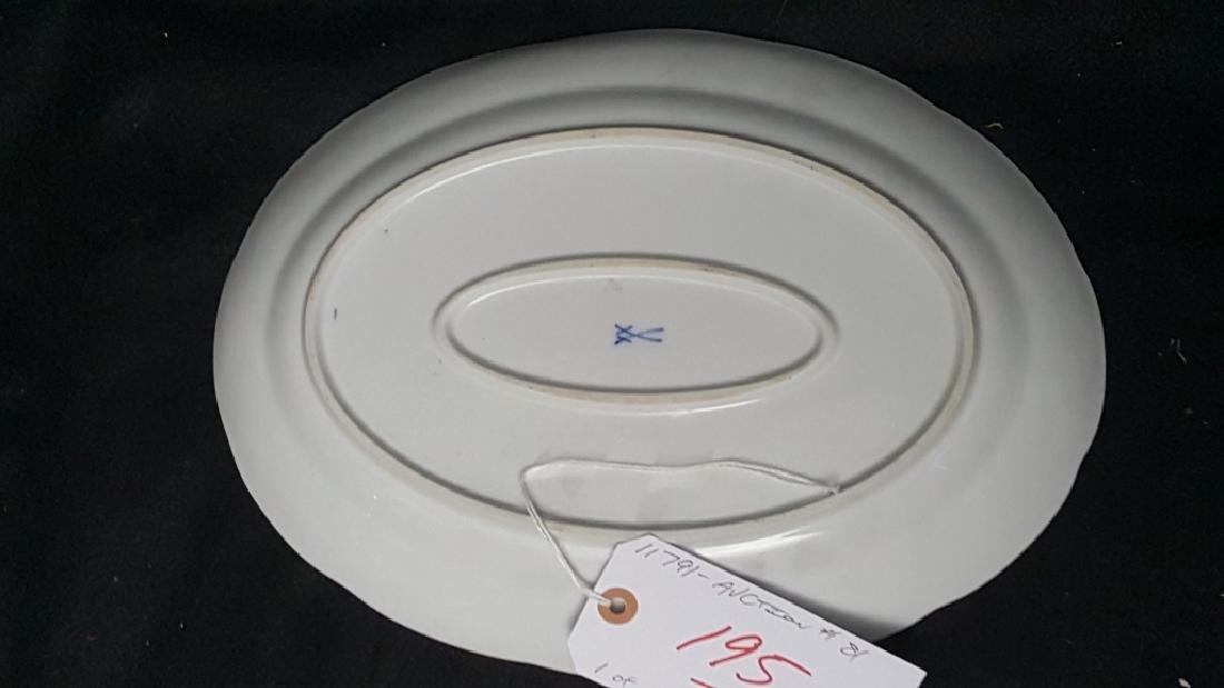 "Meissen Porcelain 13.75"" Diameter - 2"