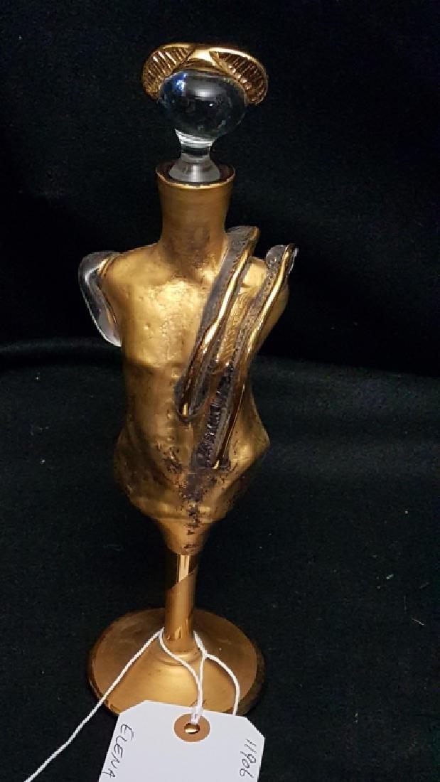Elena Glass Figural Perfume Bottle
