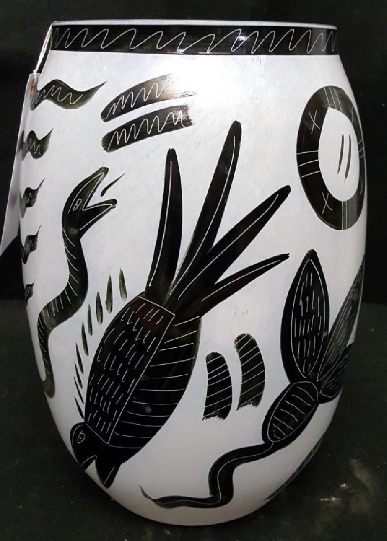 Large Kosta Boda Vase Ulrica H V