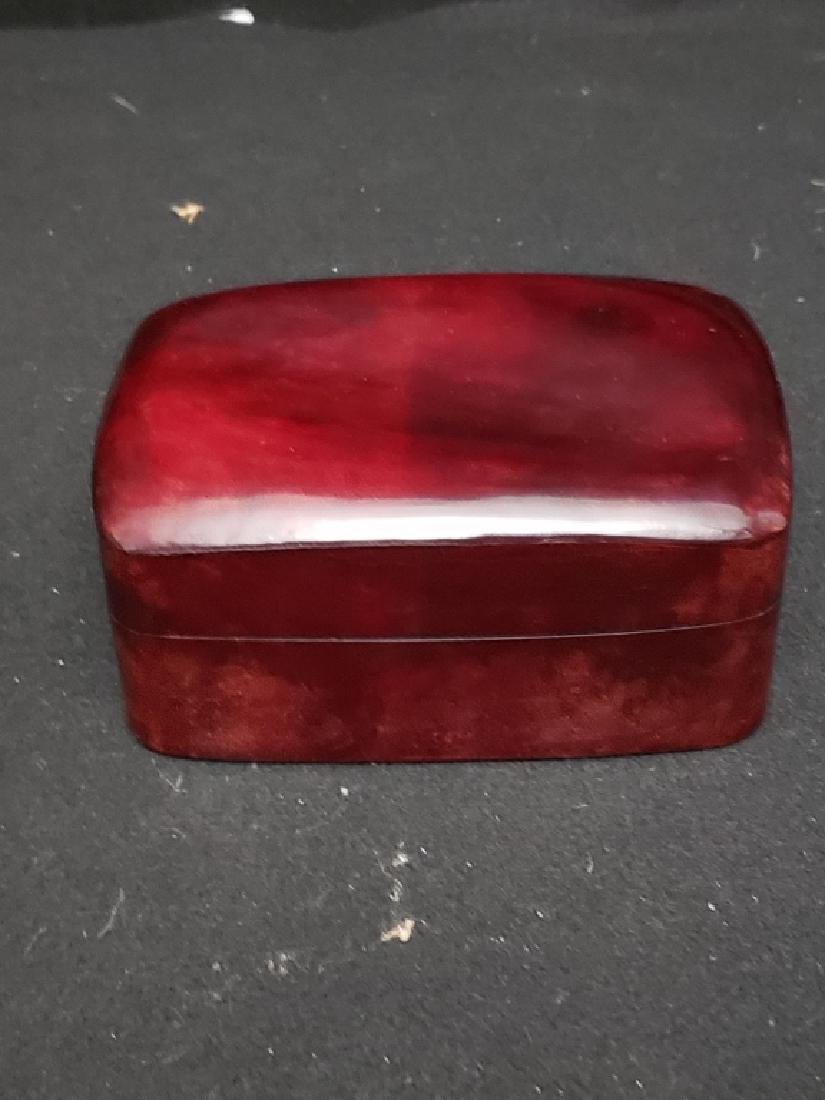Elsa Pertti Leather Box for Tiffany made in Italy