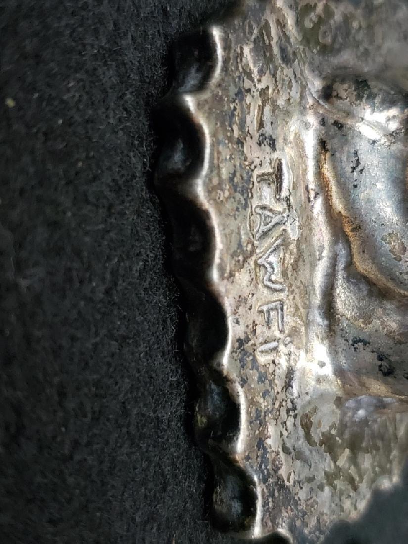 (2) Judaica Moses Silver Twafi Figurines - 5