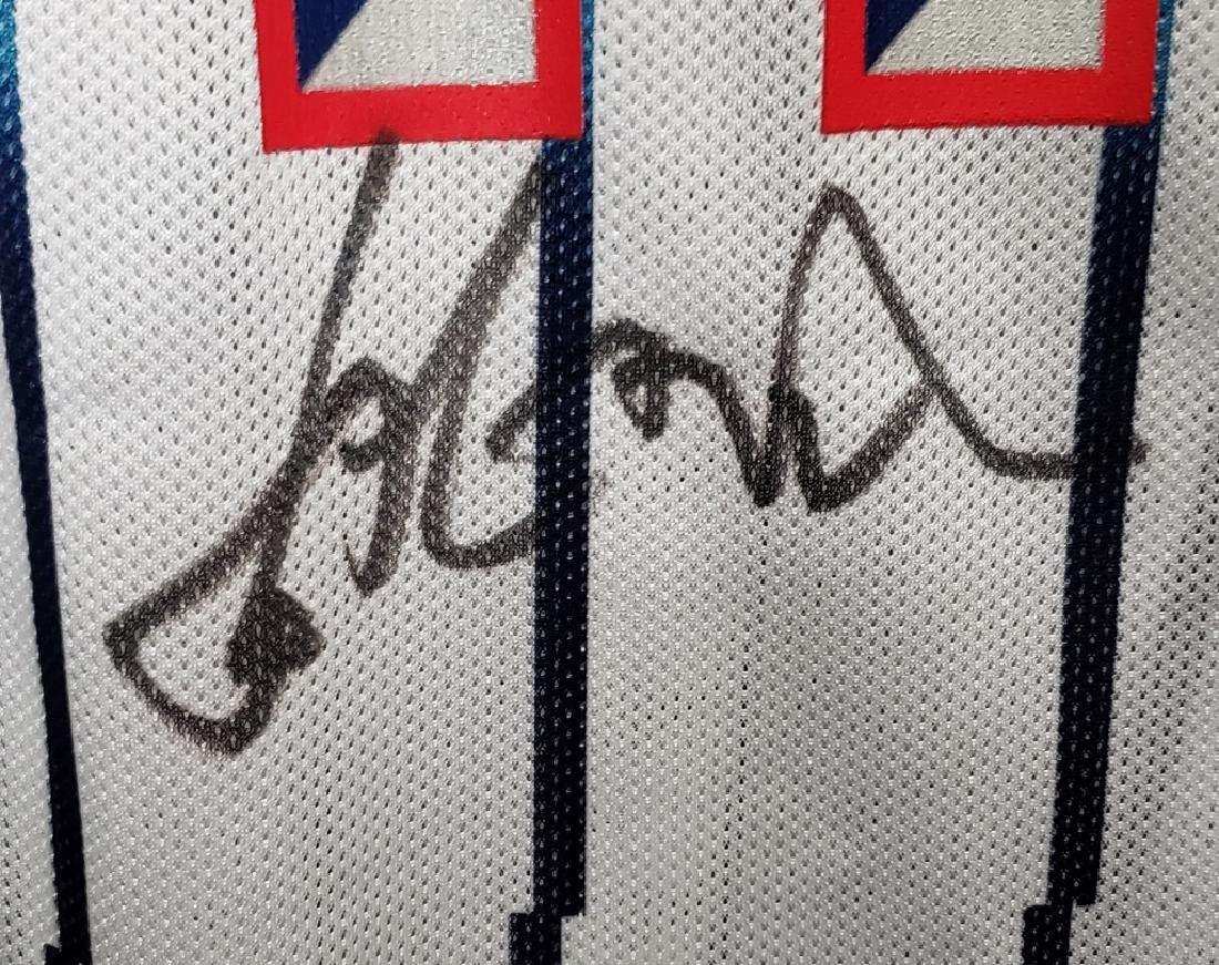 Yao Ming #11 Autographed Houston Rockets Jersey - 4