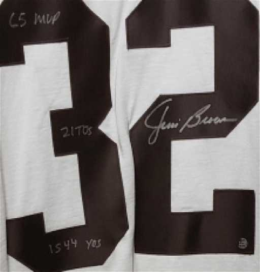012911cd019 Jim Brown Authenticated Cleveland Browns Jersey