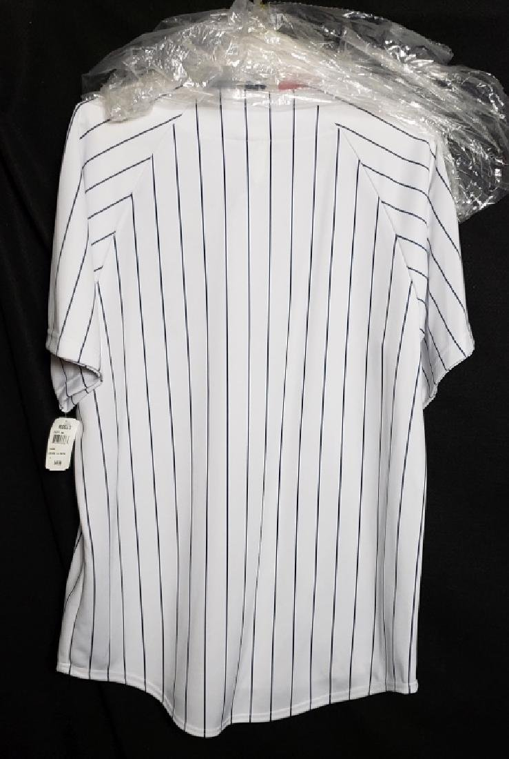 Yogi Berra NY Yankees Autographed Pinstripe Jersey - 6
