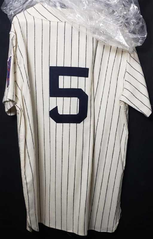 d86d1c865b7 Joe Dimaggio  5 Baseball Centennial Signed Jersey